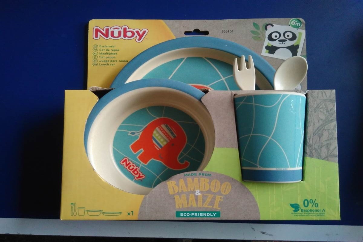 Nuby Lunch set per la pappa