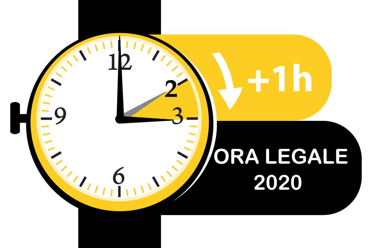 Ora legale 2020