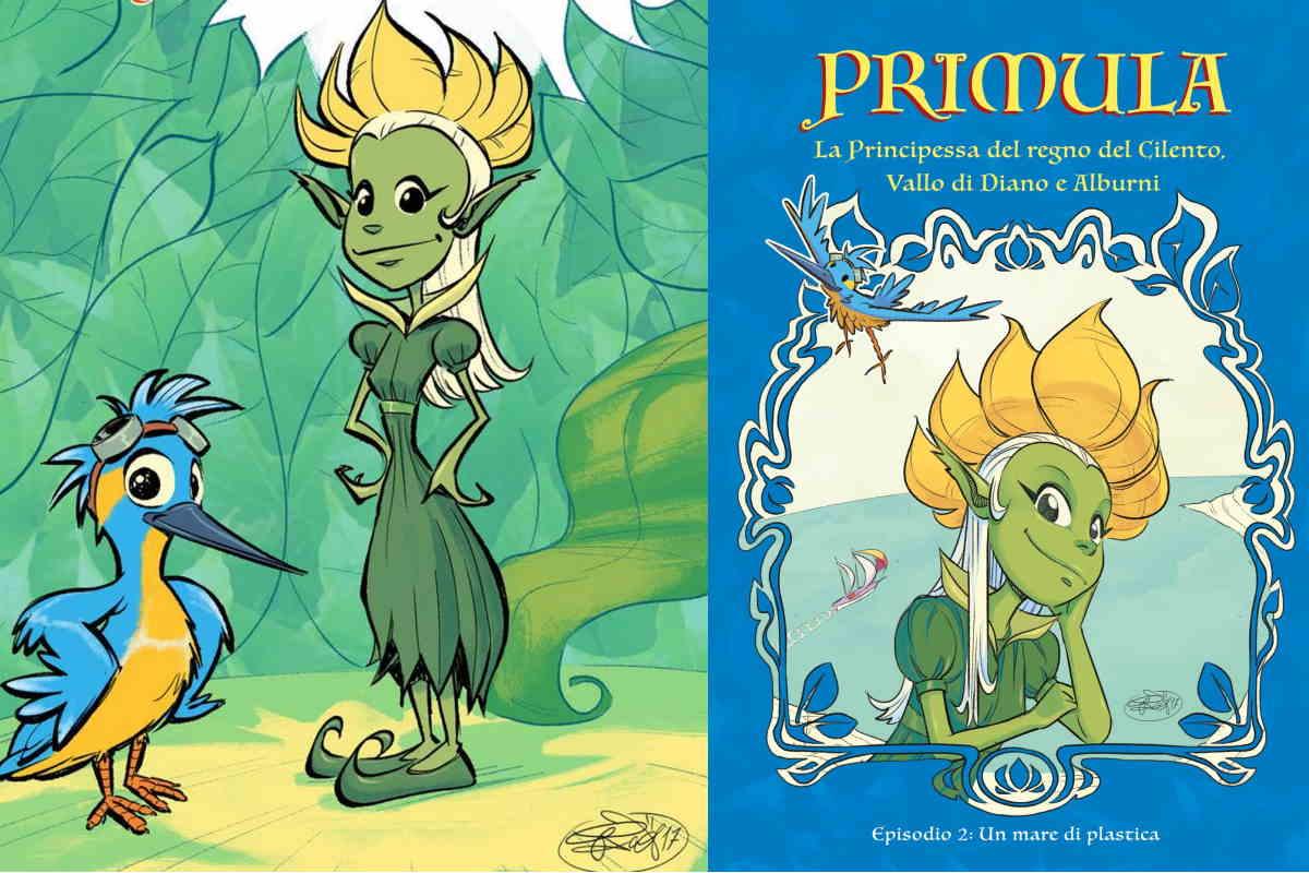 Principessa Primula cartone