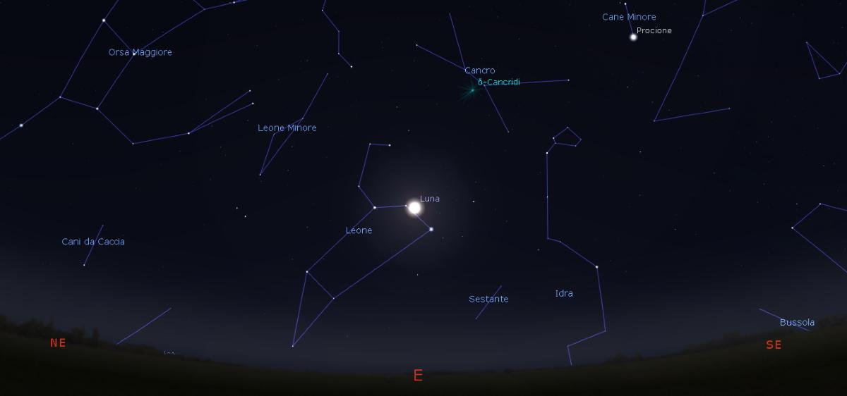 superluna 9 febbraio 2020