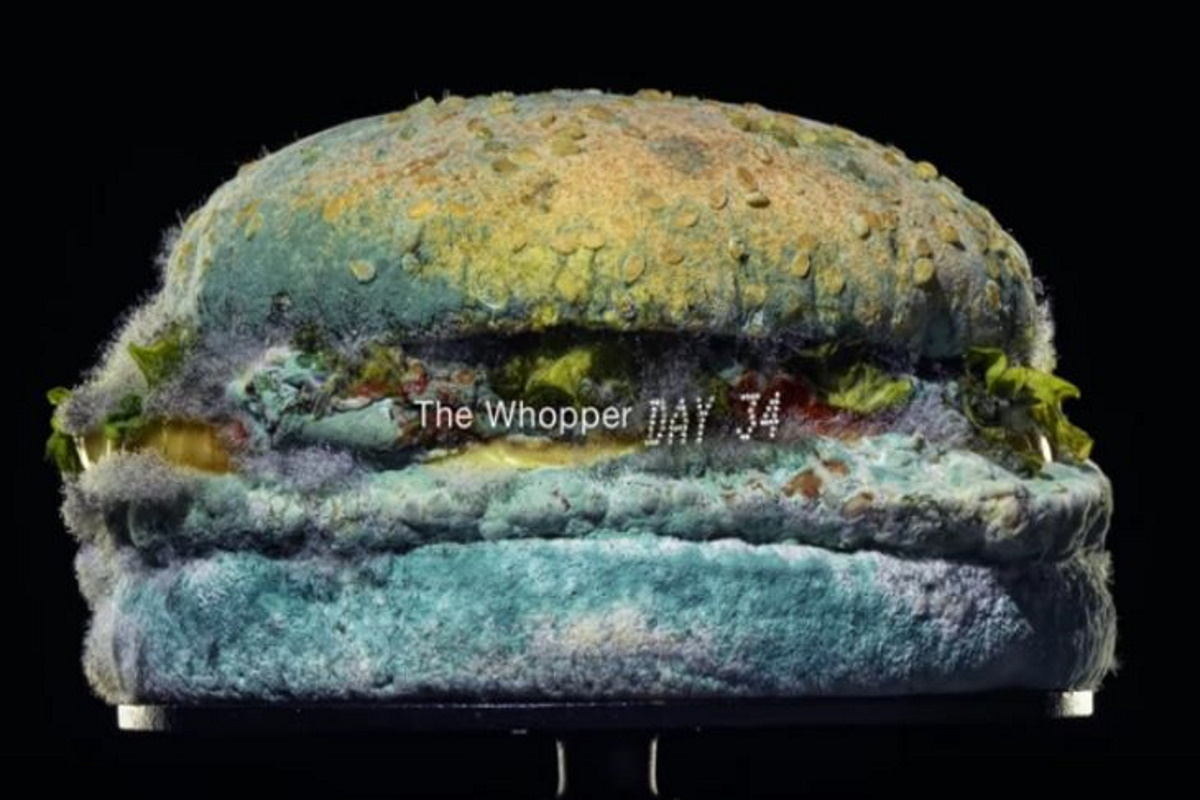 Burger King, un panino ammuffito per dire addio ai conservanti