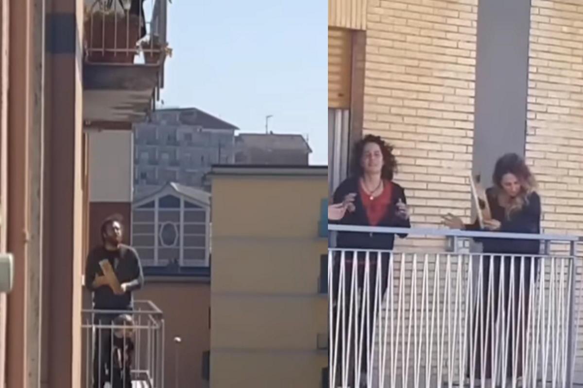 musica dai balconi