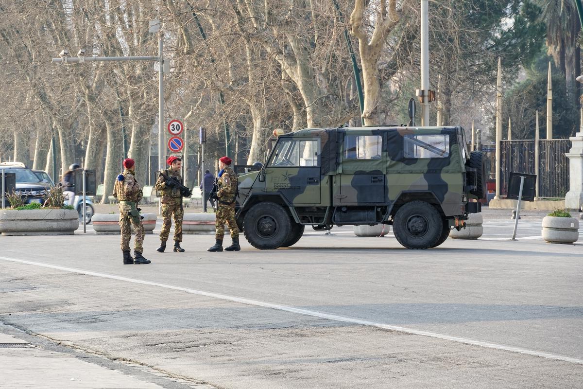esercito strade