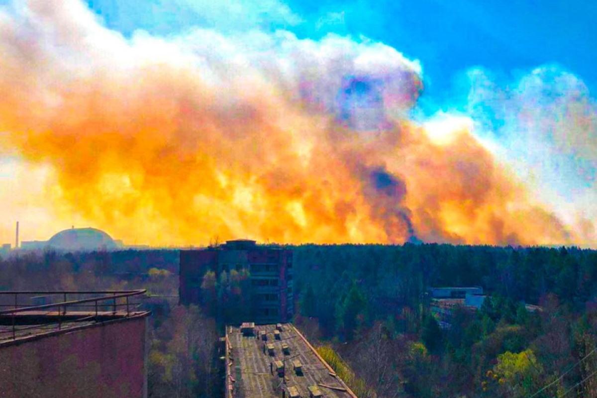 chernobyl incendio spento