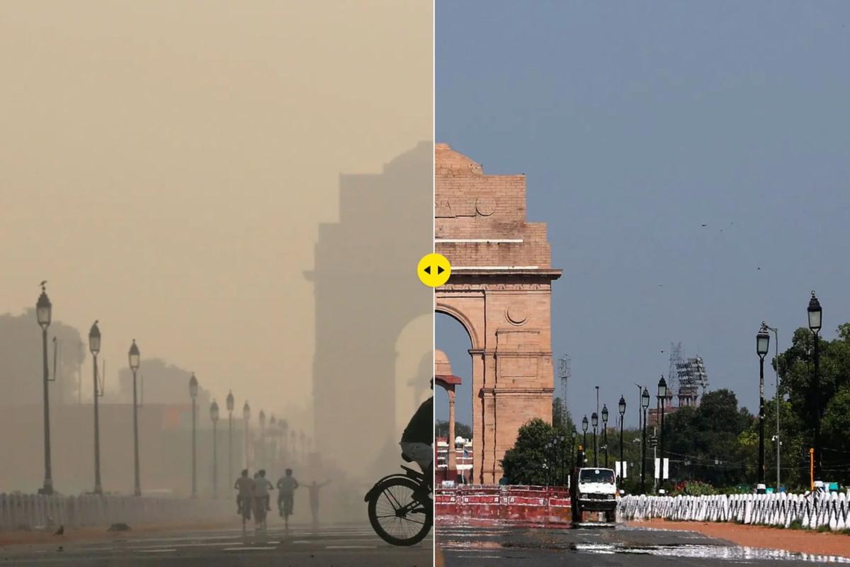 delhi inquinamento