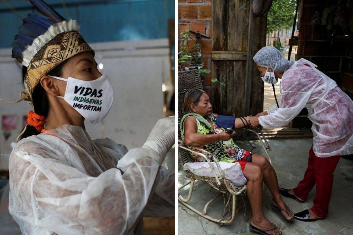 infermiera indigena