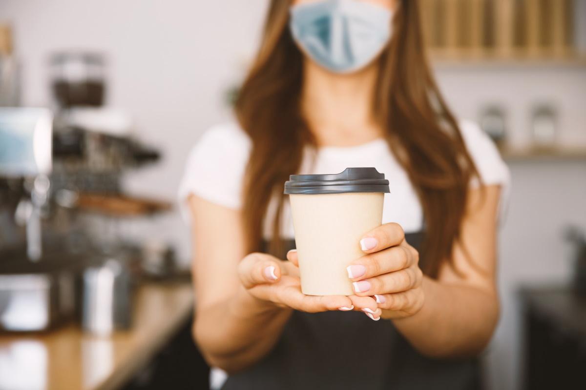 caffè materiali biodegradabili
