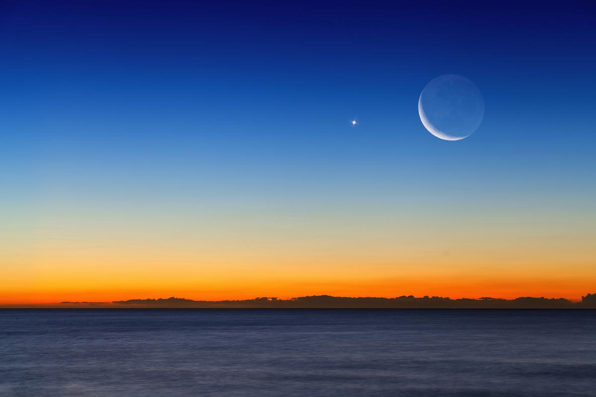 congiunzione luna