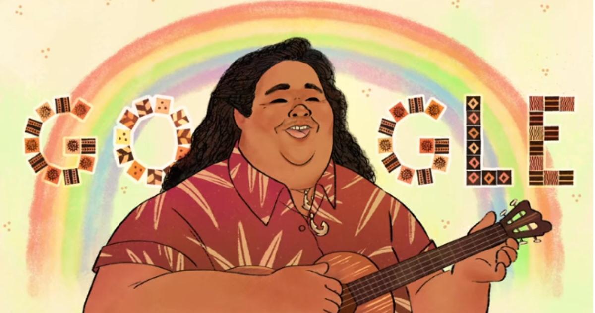 Israel Kamakawiwoʻole: il doodle per l'artista e attivista hawaiano ...