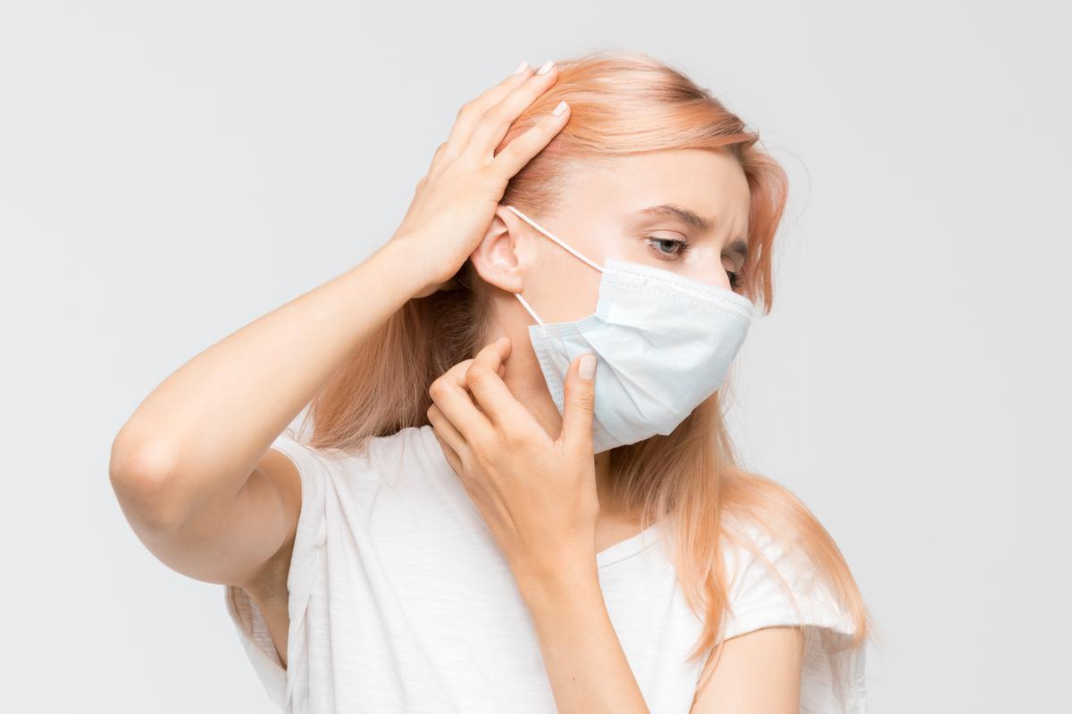 mascherine irritazioni