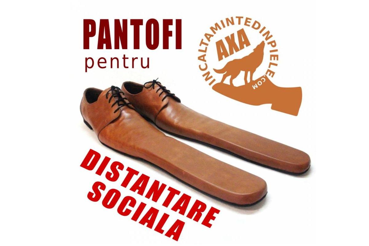 scarpe allungate distanziamento sociale