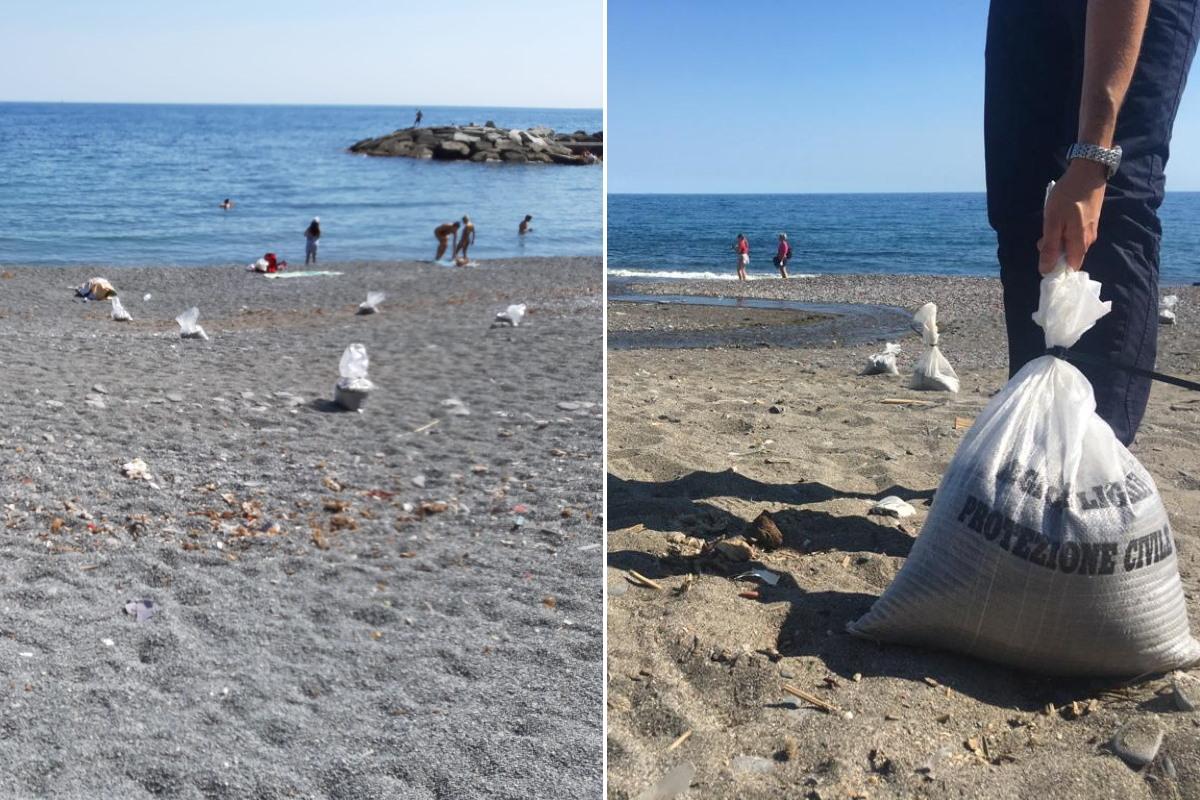 spiagge genova sacchetti