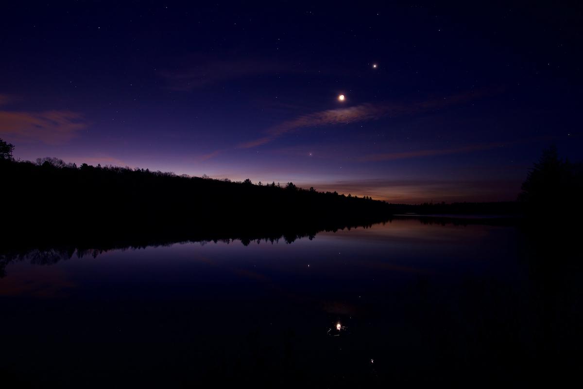 giove saturno luna