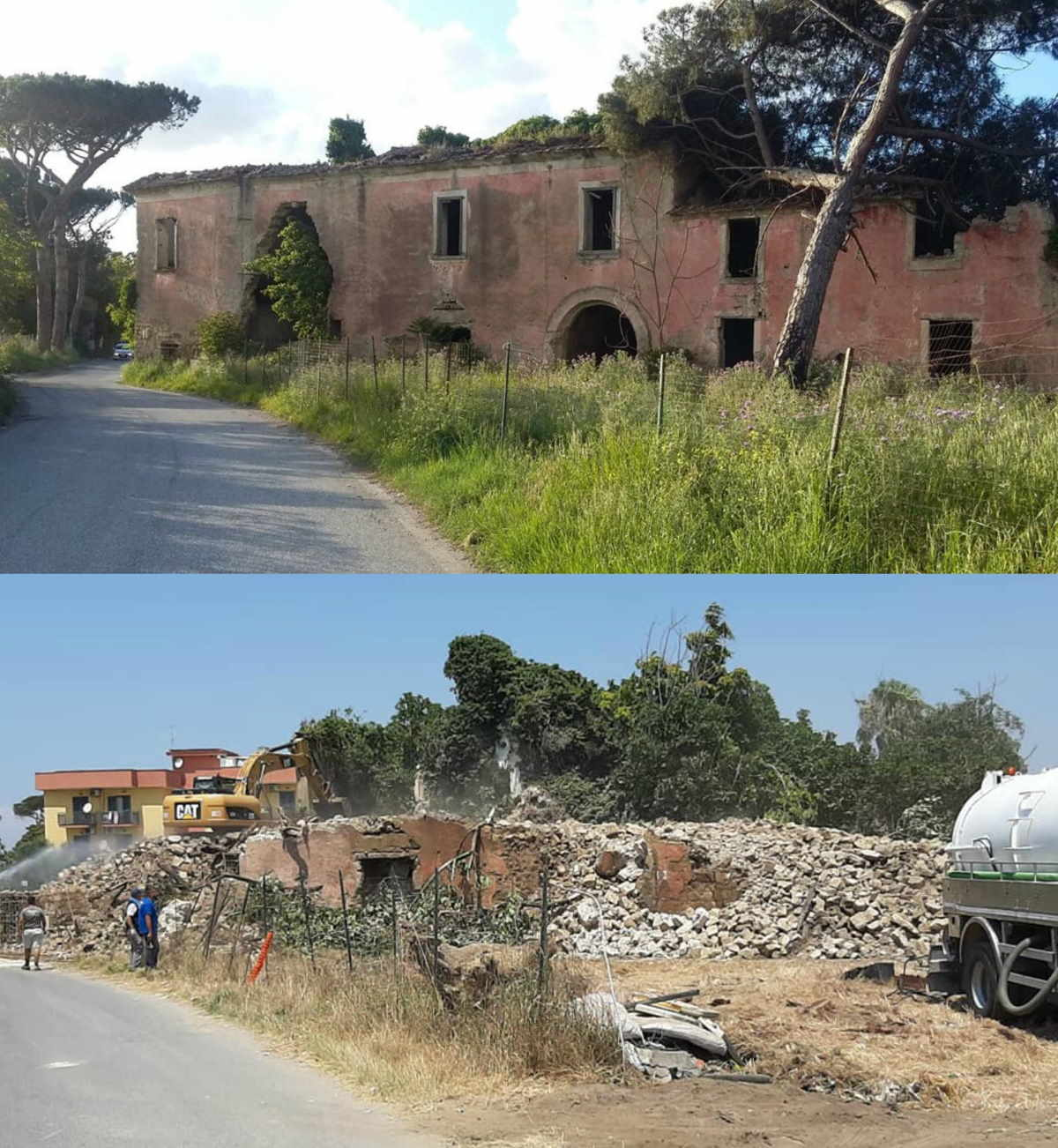 Quinta da Campânia demolida