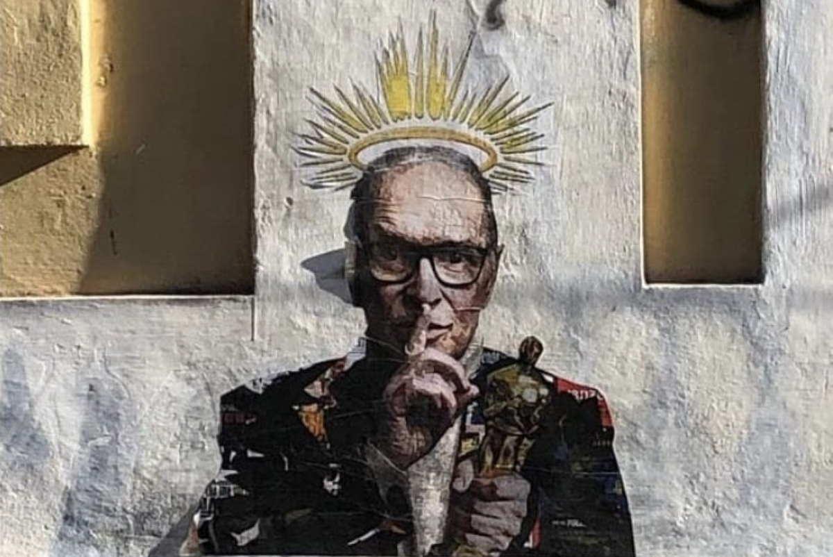 morricone street art