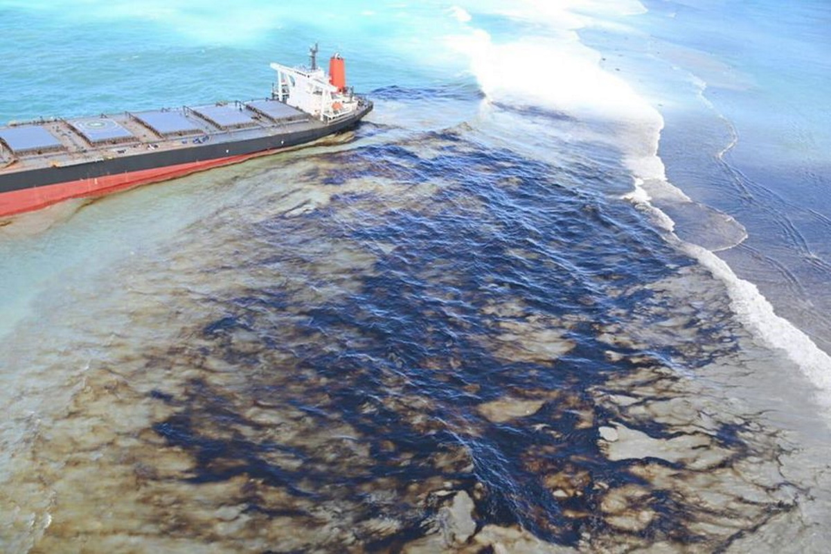 Disastro ambientale Mauritius
