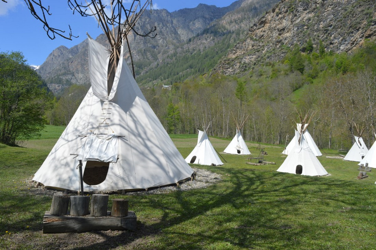 Villaggio indiano in Piemonte