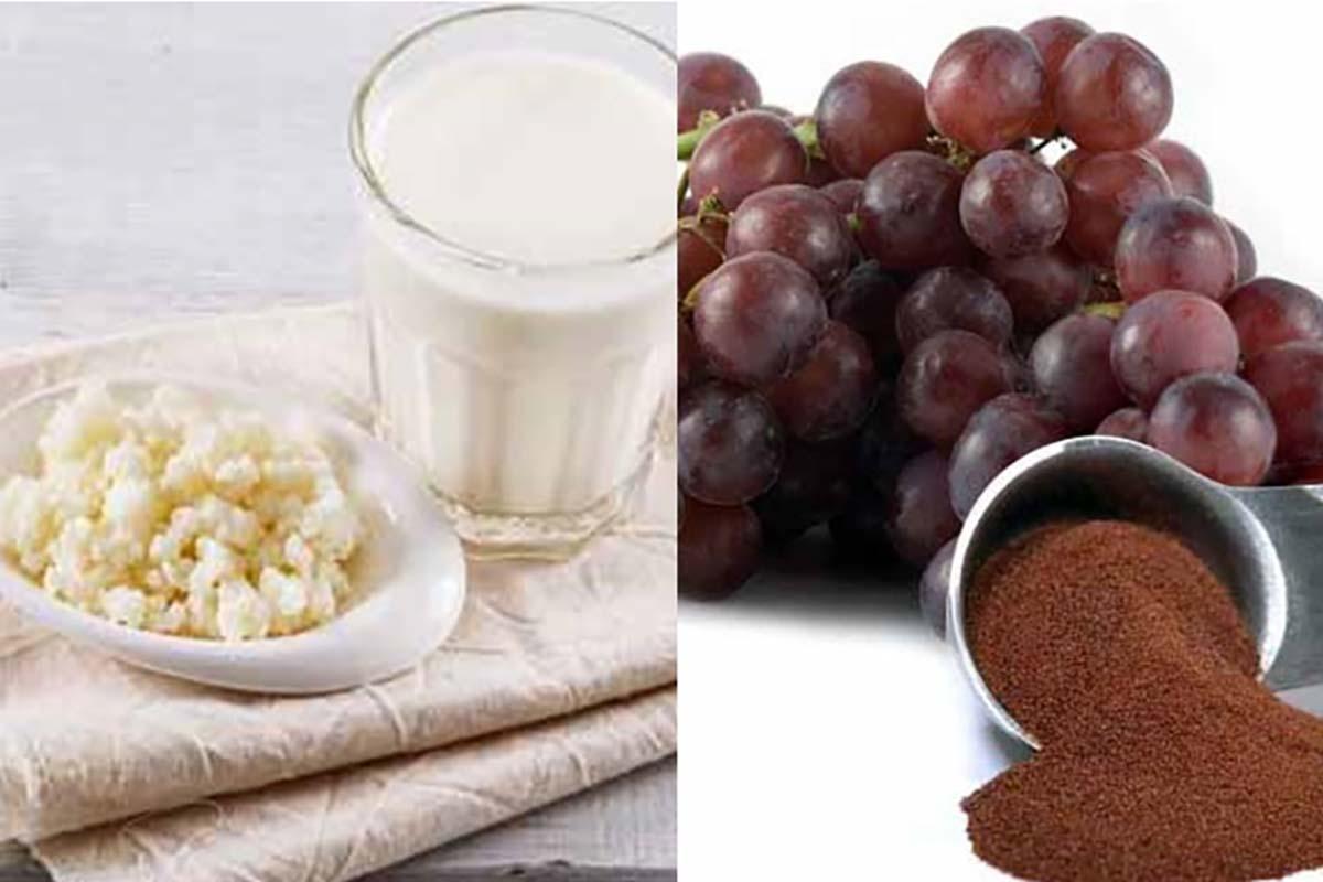 kefir-farina-semi-uva