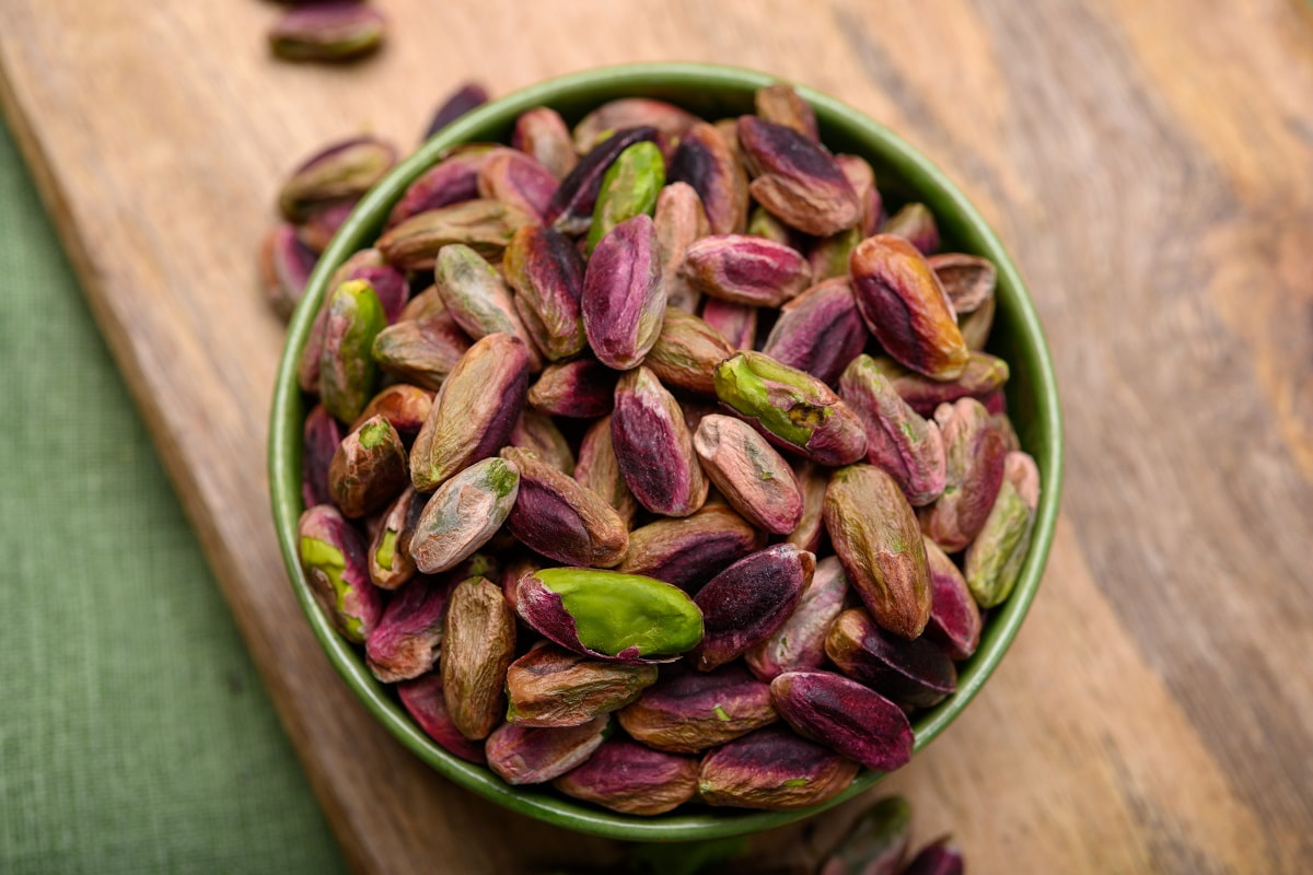 pistacchi e dieta