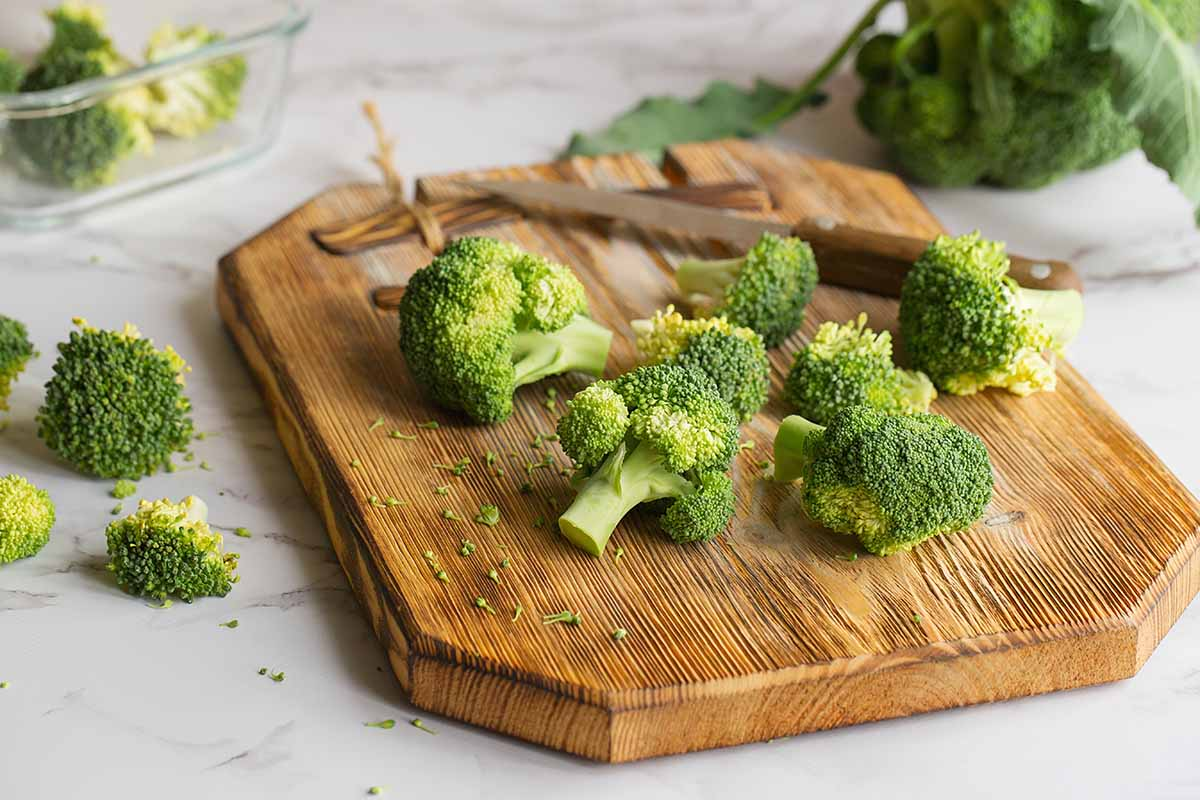 broccoli tagliati