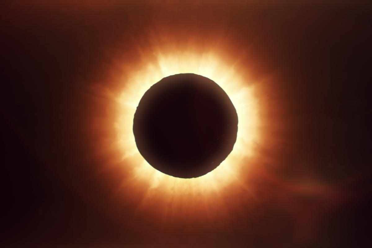 eclisse di sole 14 dicembre 2020