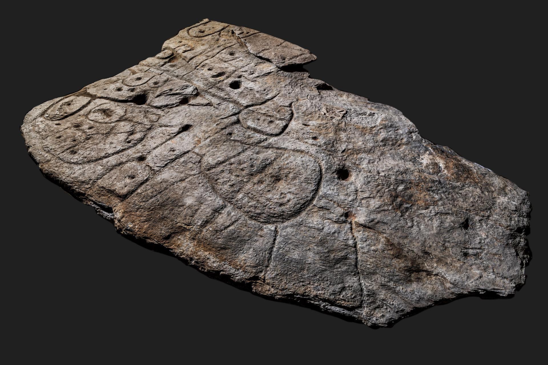 lastra mappa antica Europa