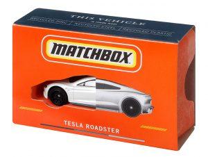 Mattel Matchbox Tesla Roadster