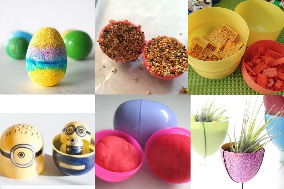 riciclo porta sorpresa uovo Pasqua