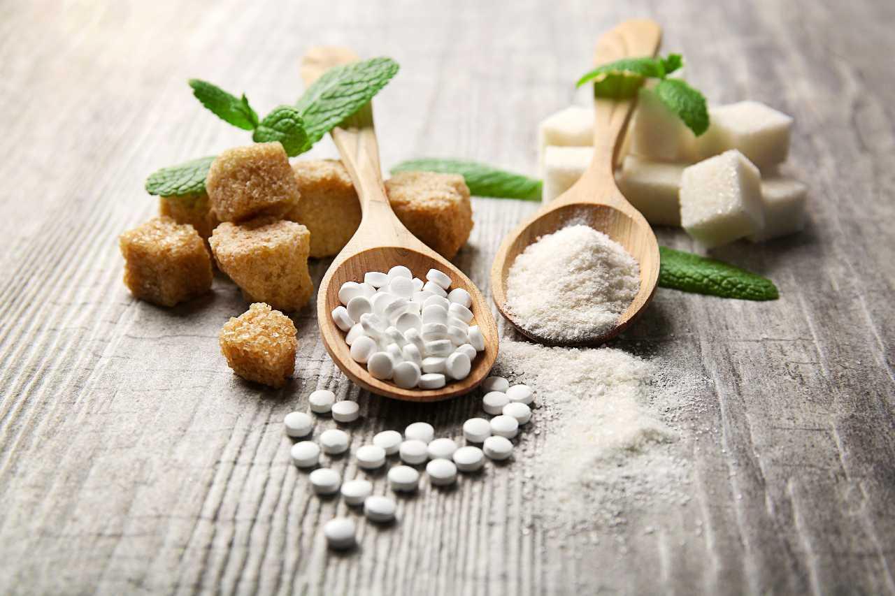 stevia e zucchero