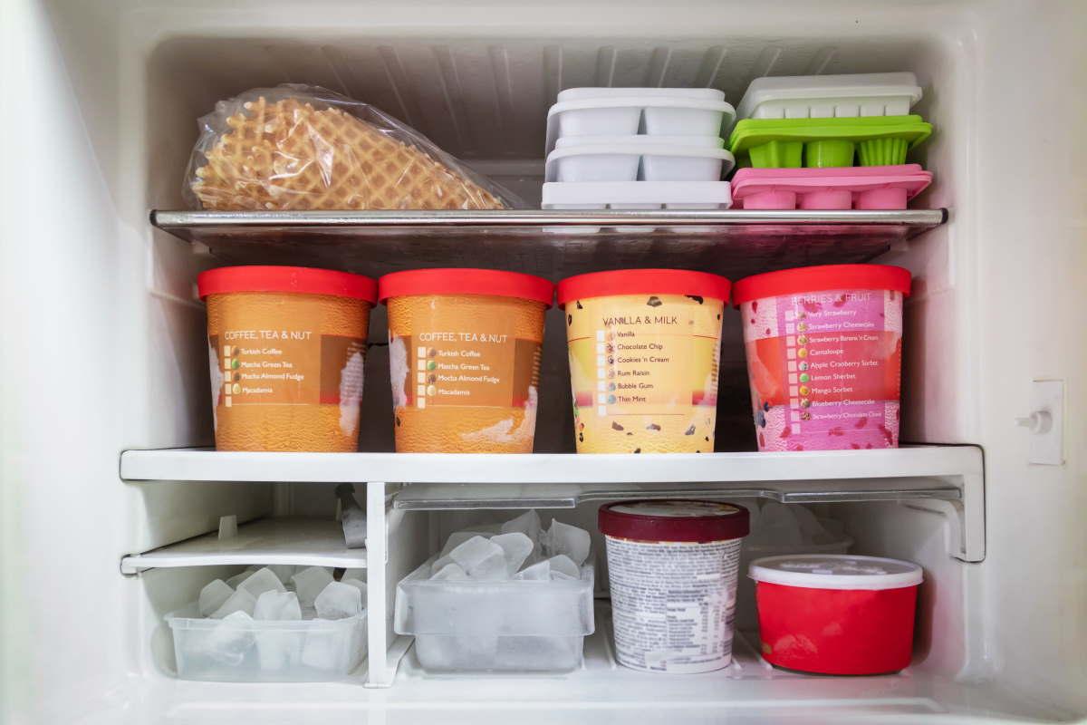 gelato freezer