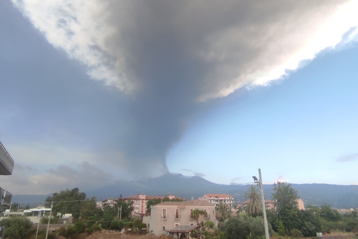 etna eruzione 20 luglio
