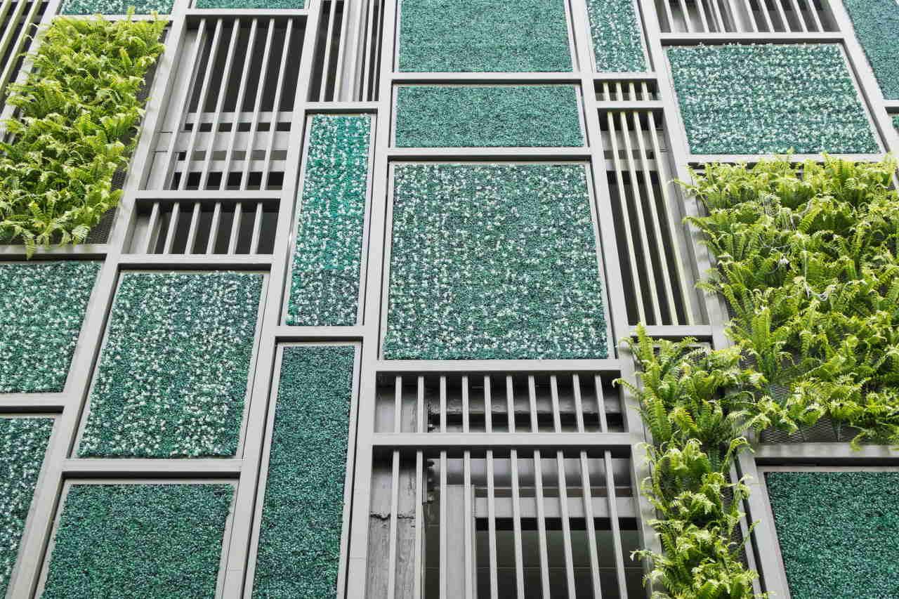 giardini verticali stress vita in città