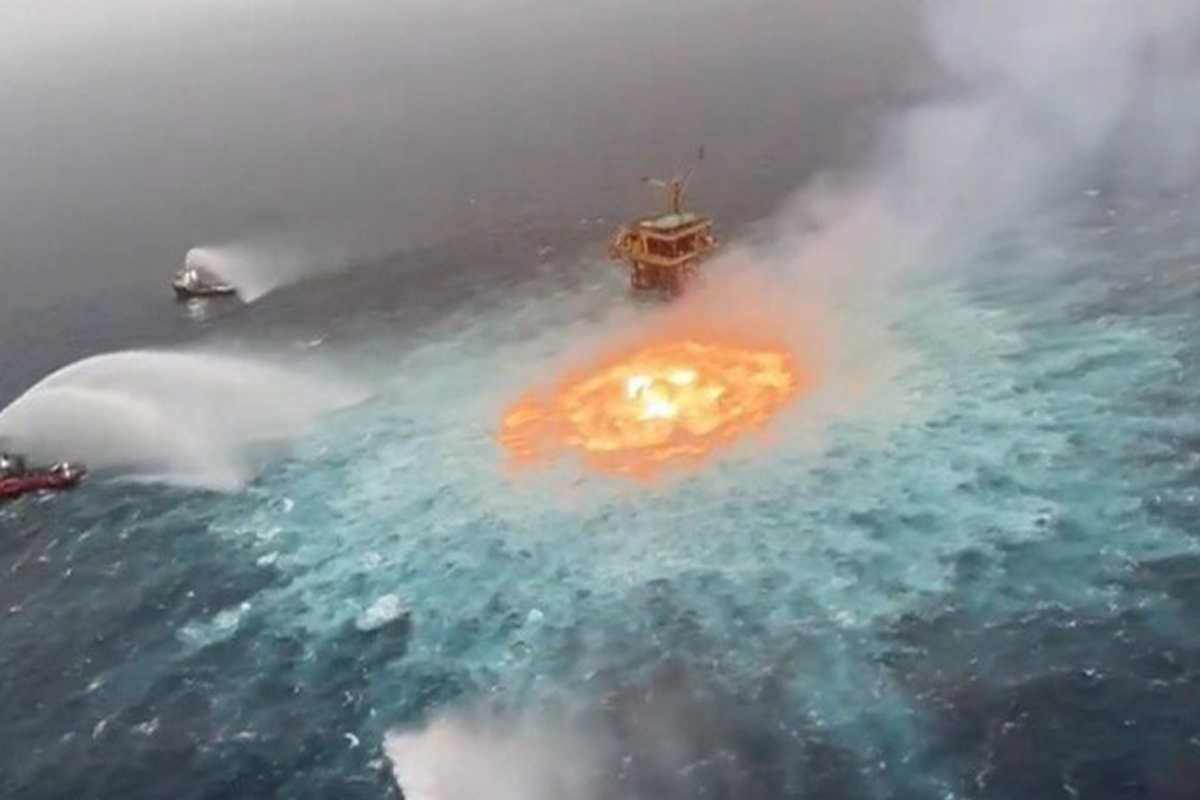 incendio golfo messico