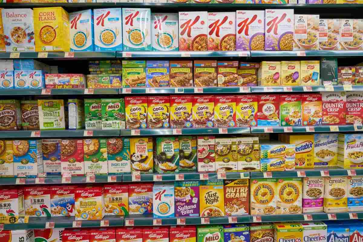 cereali scaffale