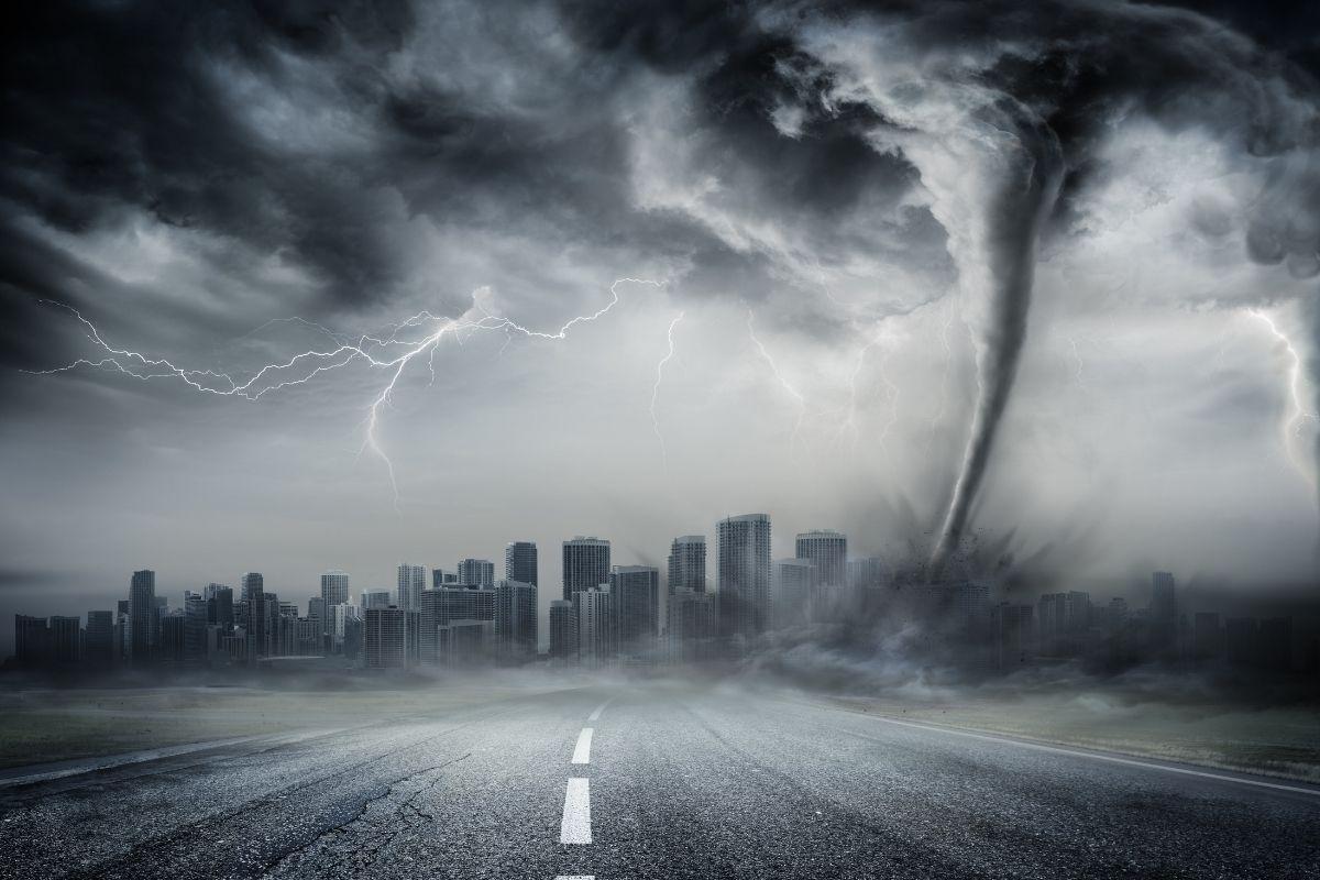 crisi climatica tempesta