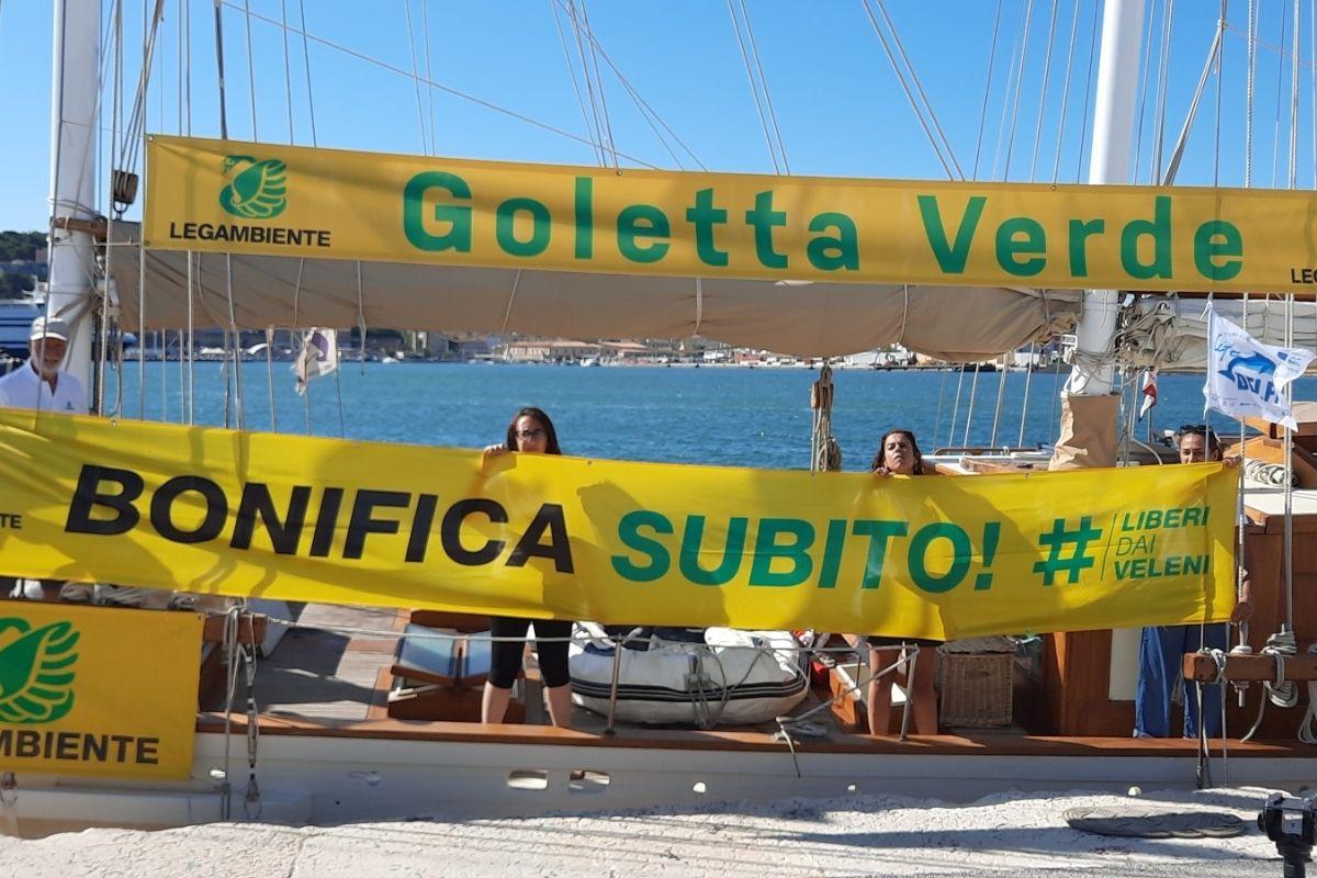 report goletta verde 2021