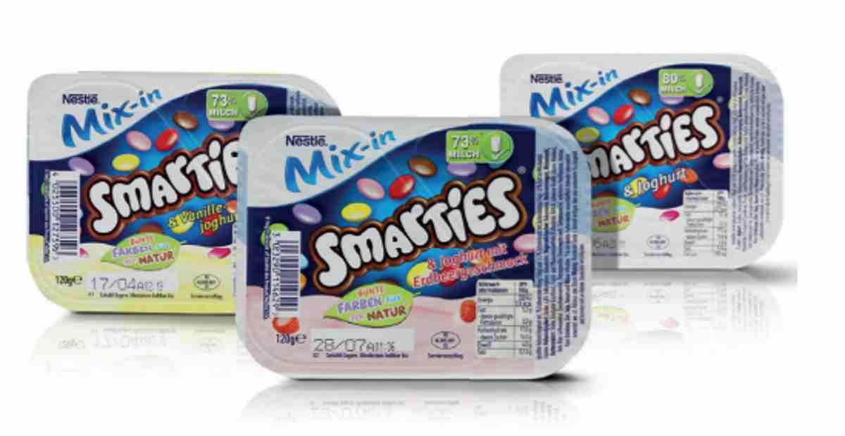 yogurt smarties