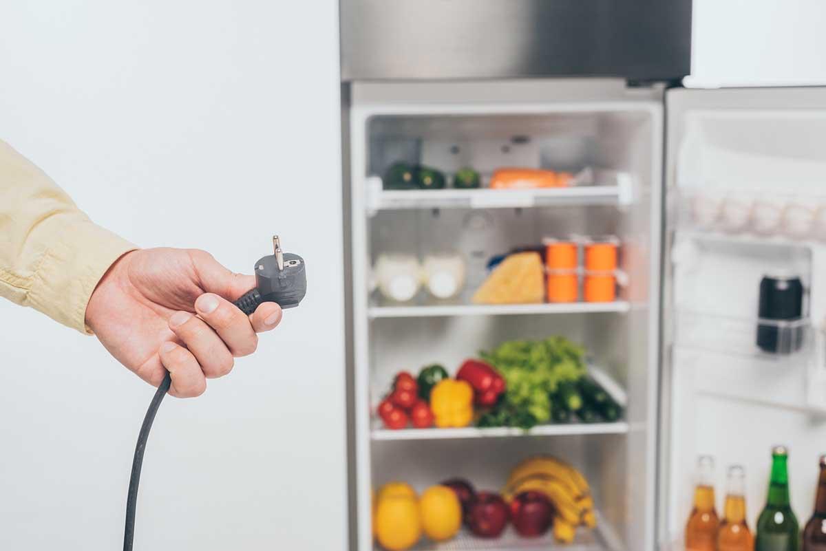 staccare elettrodomestici frigorifero vacanze