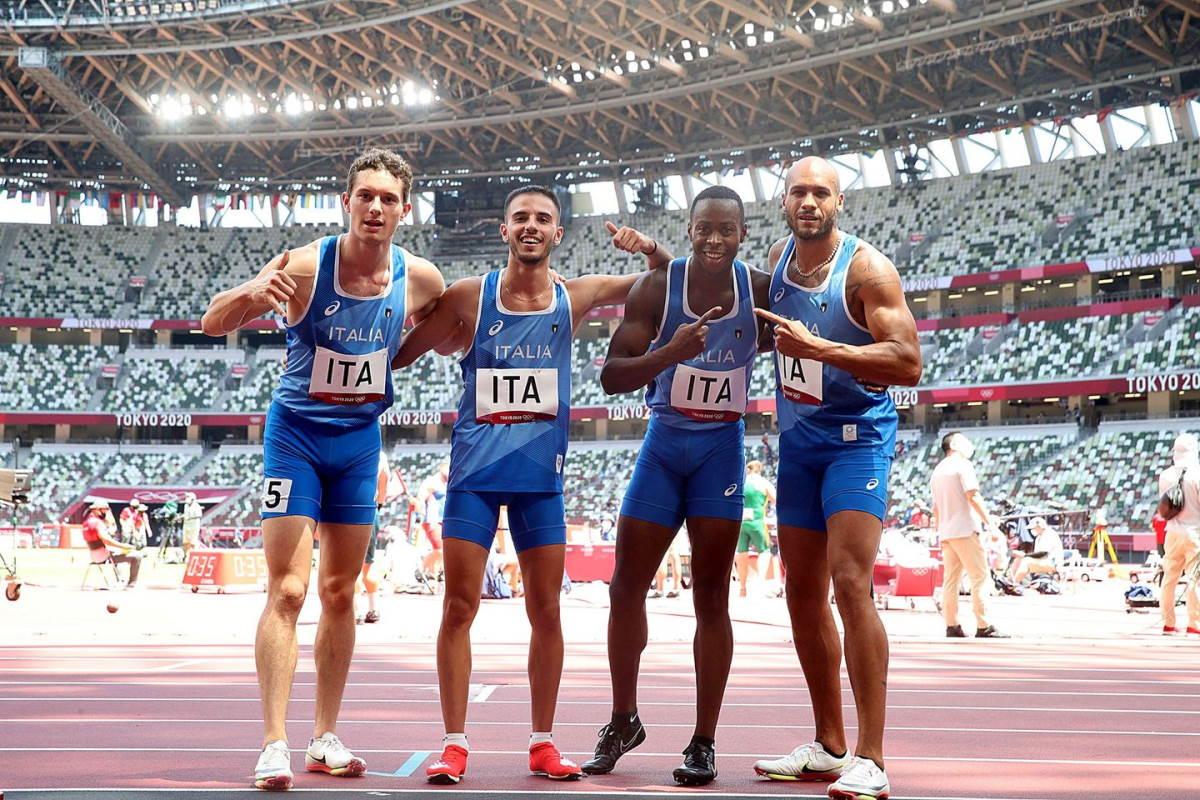 staffetta olimpiadi