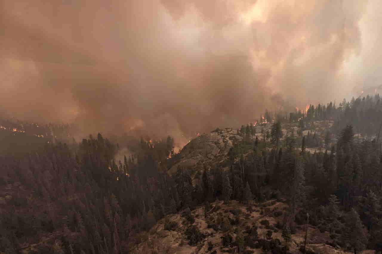 sequoie california incendio settembre 2021