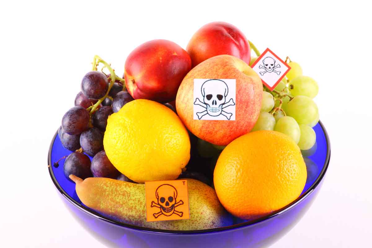 pesticidi frutta verdura regno unito studio