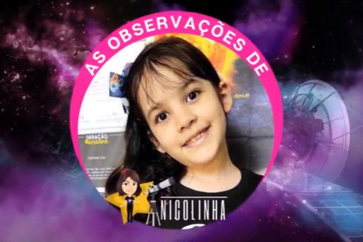 più giovane astronoma al mondo