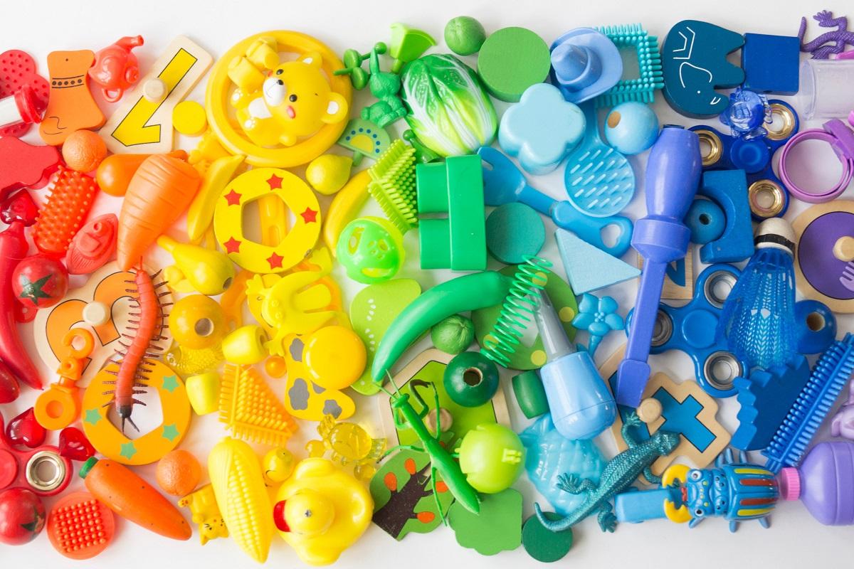 riciclo creativo giocattoli