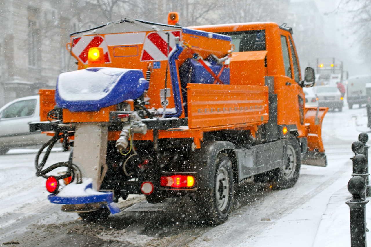 neve sulle strade quando nevica