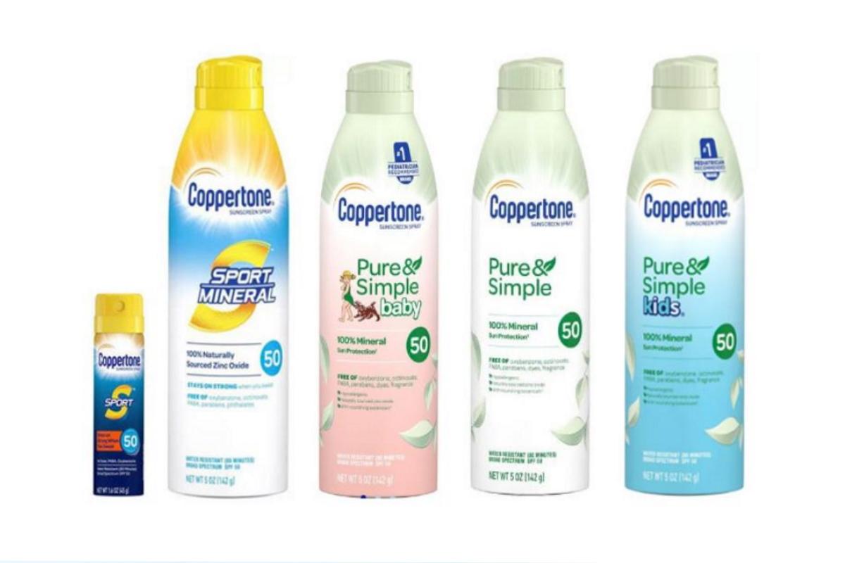 spray solari Coppertone richiamati